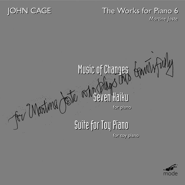 Cage: The Works for Piano, Vol. 6