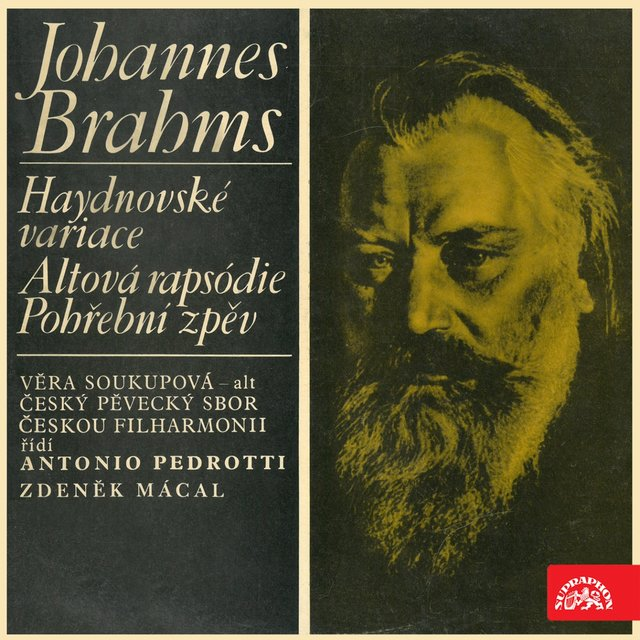 Brahms: Variations on a Theme by Joseph Haydn, Rhapsody for Contralto, Funeral Chant
