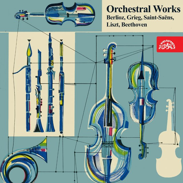 Berlioz, Grieg, Saint-Saëns, Liszt, Beethoven: Orchestral Works