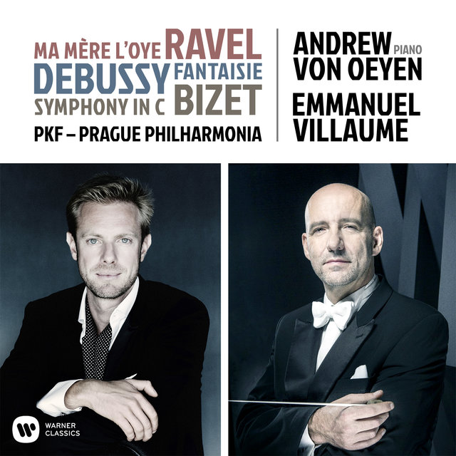 Ravel, Debussy & Bizet: Orchestral Works - Debussy: Fantaisie, L. 73: I. Andante ma non troppo