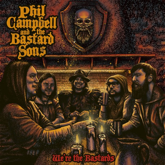 Cover art for album We're the Bastards by Phil Campbell and the Bastard Sons