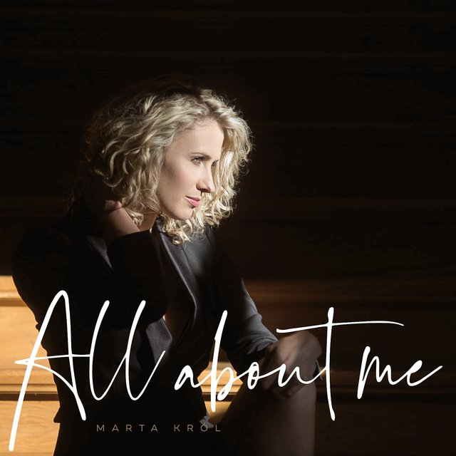 Cover art for album All About Me by Marta Król