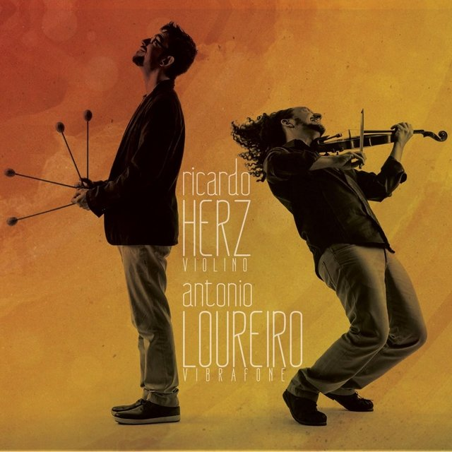 Cover art for album Herz & Loureiro by Ricardo Herz & Antonio Loureiro