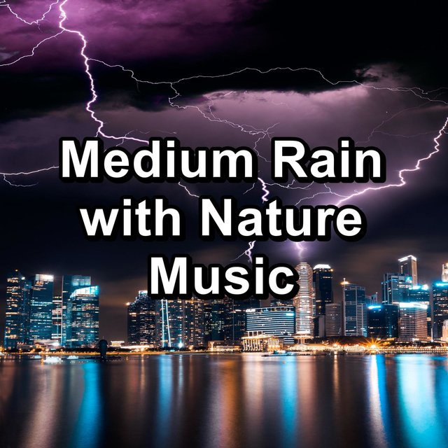 Medium Rain with Nature Music