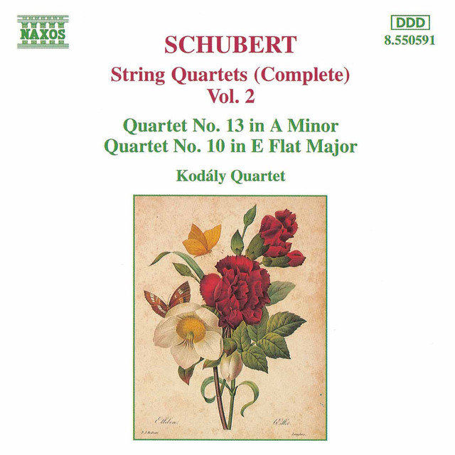 Schubert: String Quartets (Complete), Vol. 2
