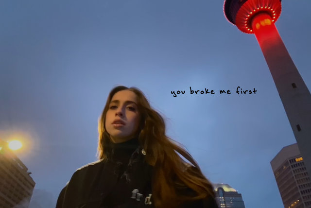 you broke me first (Official Video)