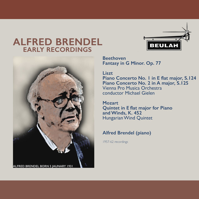 Alfred Brendel Early Recordings