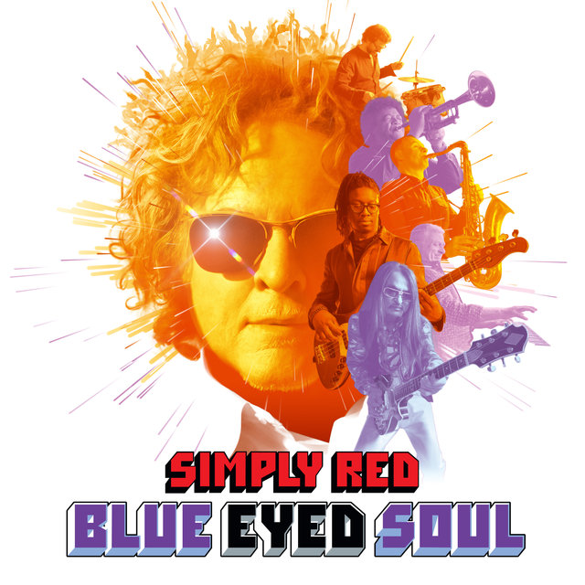 Cover art for album Blue Eyed Soul by Simply Red