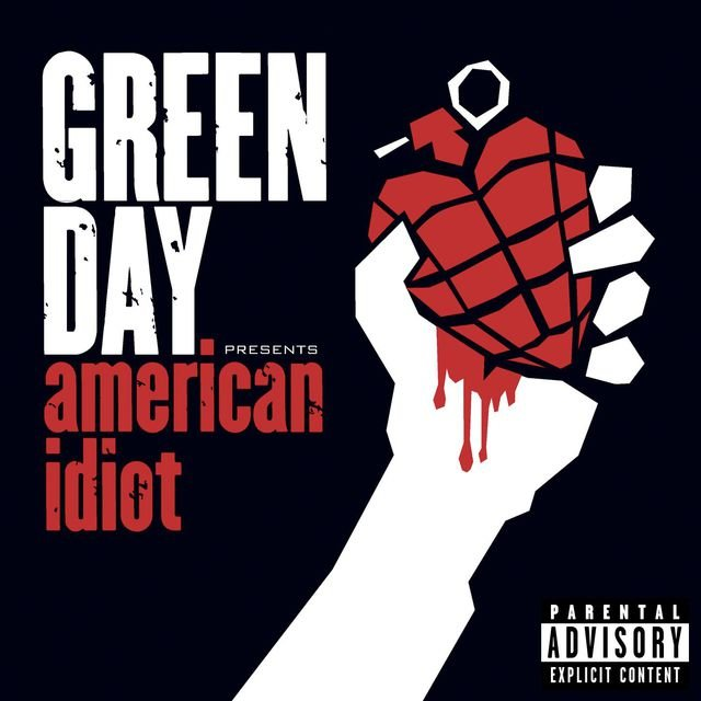Cover art for album  by Green Day