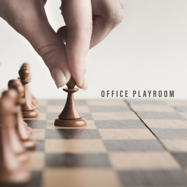 Office Playroom - Relaxing Jazz Background for Playing with Colleagues, Ping Pong, Table Football, Darts, Billiards, Break at Work, Laugh and Fun