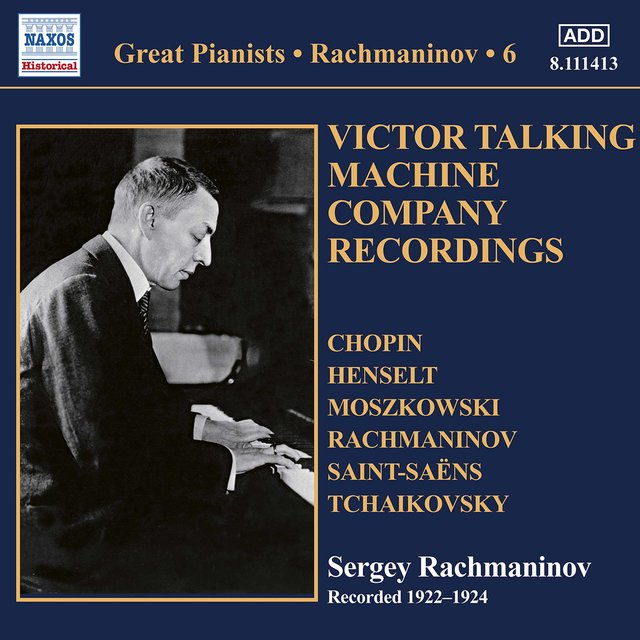 Rachmaninoff: Piano Solo Recordings, Vol. 6