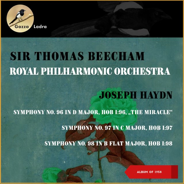 "Joseph Haydn: Symphony No. 96 In D Major, Hob I: 96, ""The Miracle"