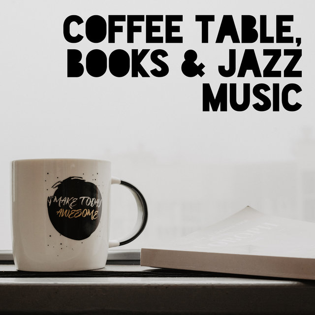Coffee Table, Books & Jazz Music