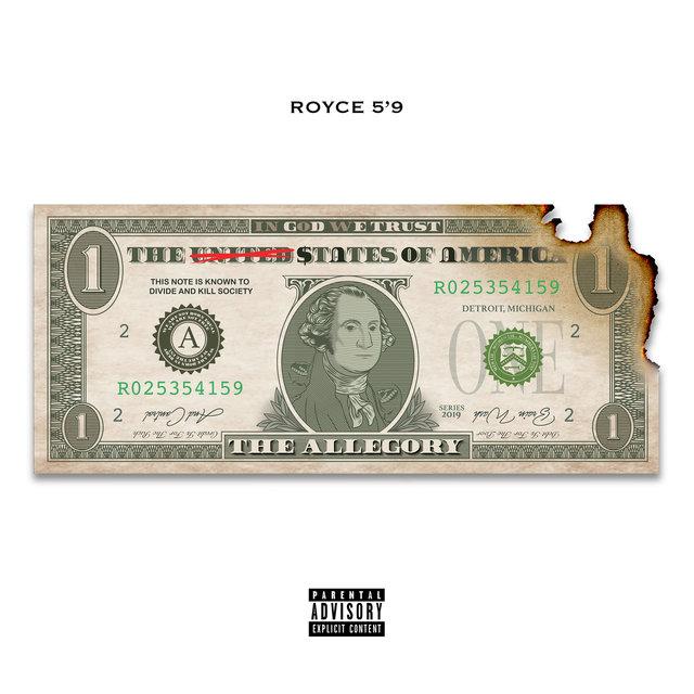 "Cover art for album The Allegory by Royce Da 5'9"""
