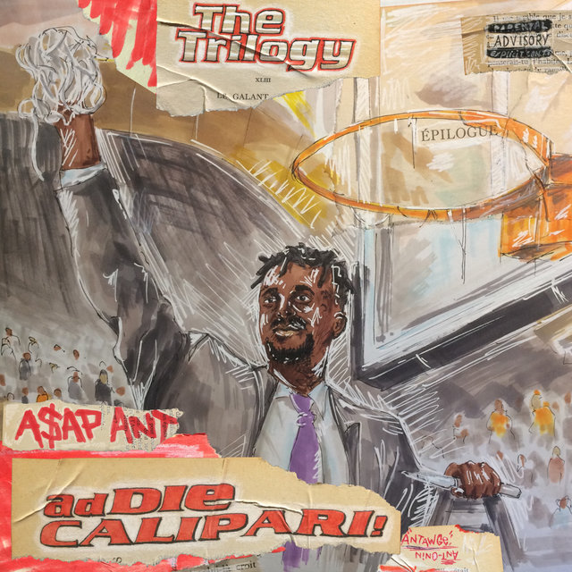 Cover art for album Addie Calipari (The Trilogy) by A$Ap Ant