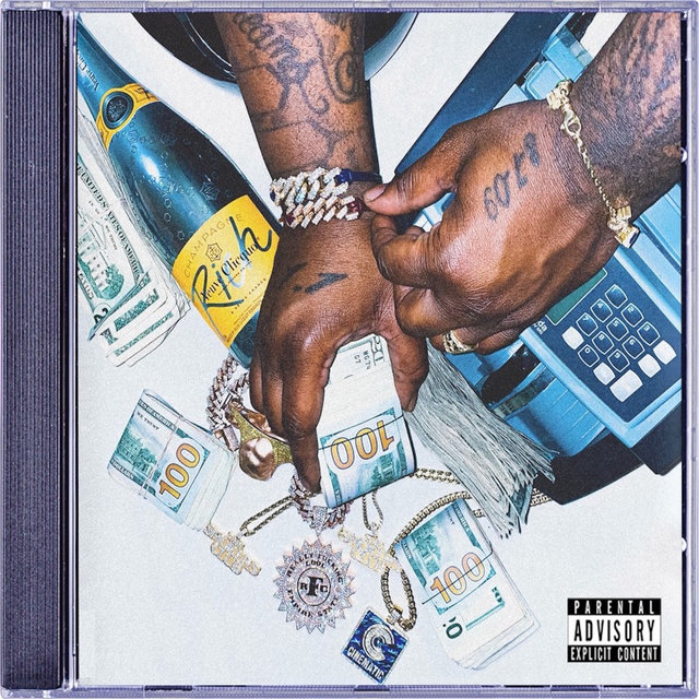 Cover art for album R.F.C (Money Is the Motive), Pt. 1 by Smoke DZA, Nym Lo, Jayy Grams