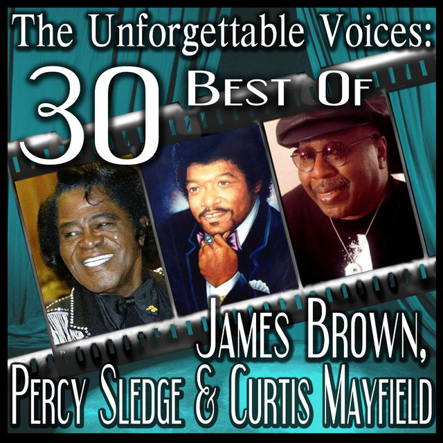 The Unforgettable Voices: 30 Best Of James Brown, Percy Sledge & Curtis Mayfield