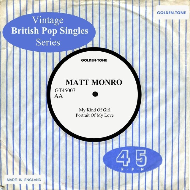 Vintage British Pop Singles: Matt Monro