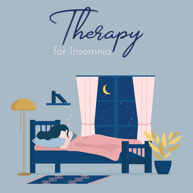 Therapy for Insomnia: Calming Sounds for Sleep, Reducing Stress Melodies, Sounds of Water, Instrumental Music
