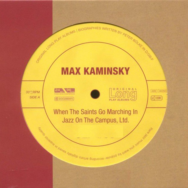 Max Kaminsky - When the Saints Go Marching in Jazz on the Campus
