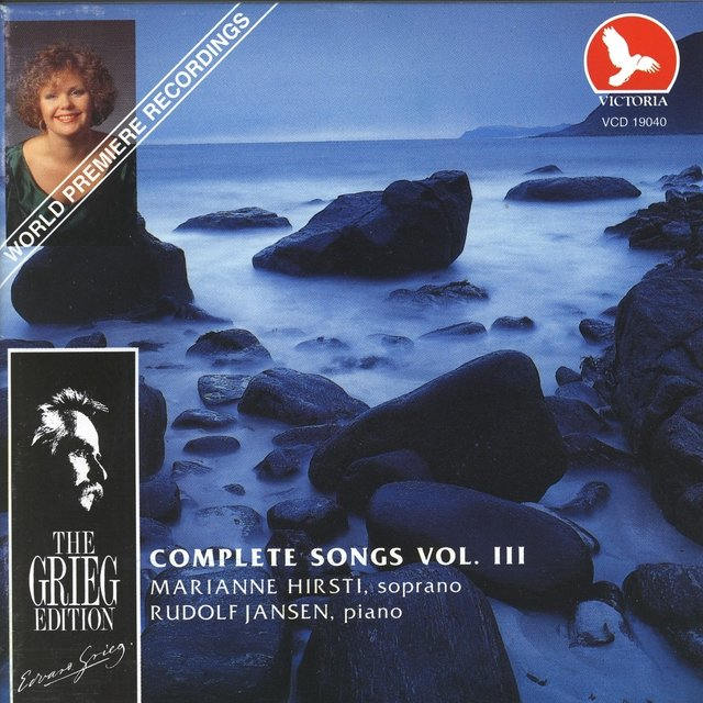 Edvard Grieg Complete Songs, Vol. 3