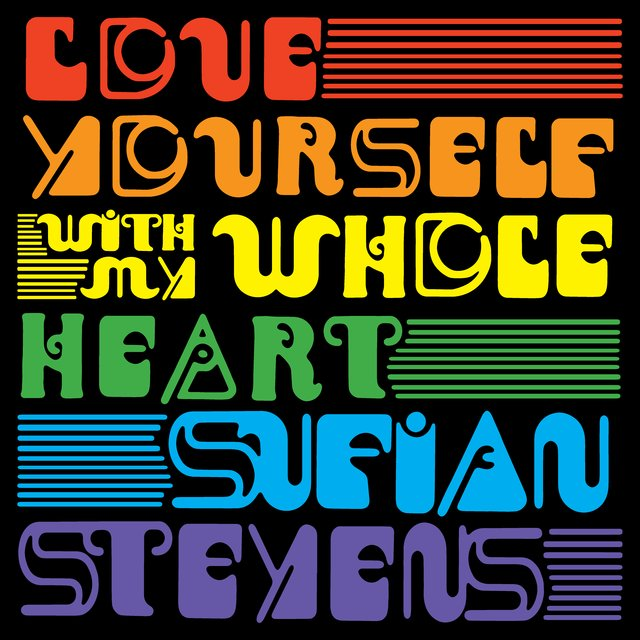 Cover art for album Love Yourself / With My Whole Heart by Sufjan Stevens