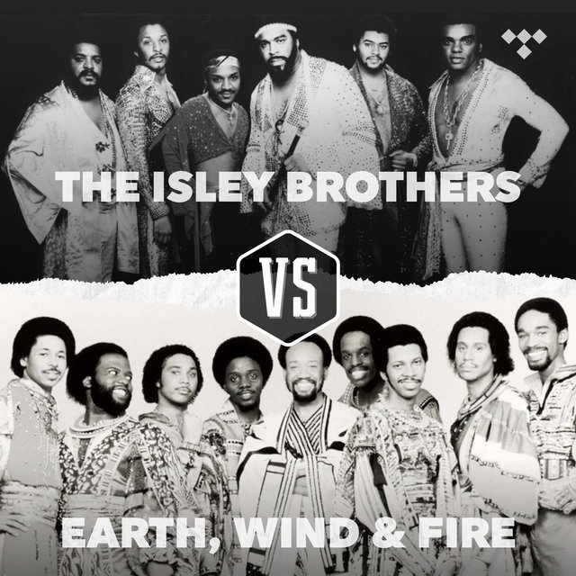Cover art for album The Isley Brothers vs. Earth, Wind & Fire by TIDAL
