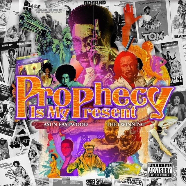 Cover art for album Prophecy Is My Present by Asun Eastwood, THETWINNING