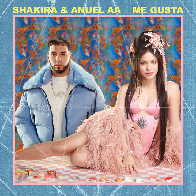 Cover art for album  by Shakira, Anuel AA