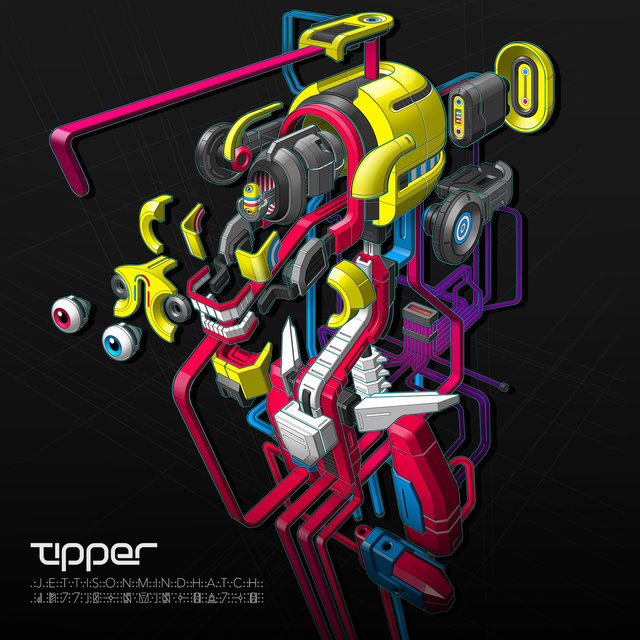 Cover art for album Jettison Mind Hatch by Tipper