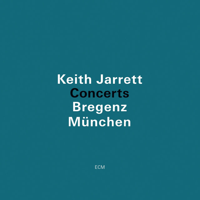 Cover art for album Concerts (Bregenz, München) (Live) by Keith Jarrett