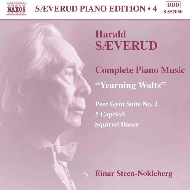 Saeverud: Complete Piano Music, Vol. 4