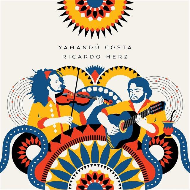 Cover art for album Yamandú Costa e Ricardo Herz by Yamandu Costa & Ricardo Herz