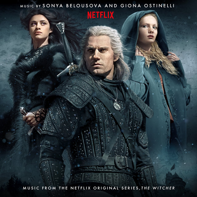 Cover art for album The Witcher (Music from the Netflix Original Series) by Sonya Belousova, Giona Ostinelli