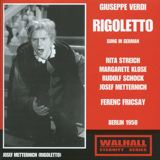 Rigoletto (Sung in German) [Recorded 1950]