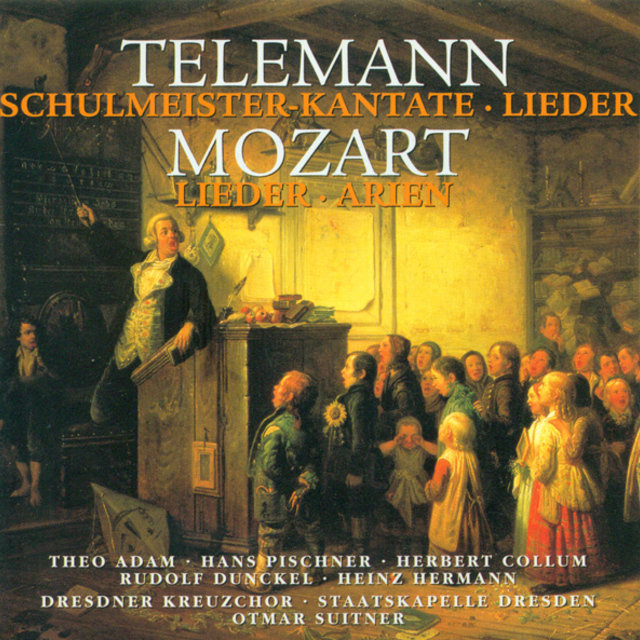 Vocal Recital (Bass): Adam, Theo - TELEMANN, G.P. / MOZART, W.A.