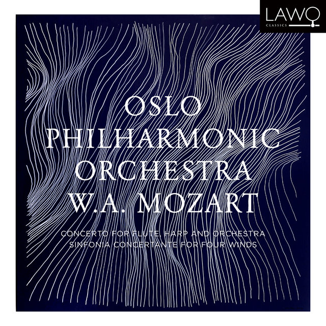 W.A. Mozart: Concerto for Flute, Harp and Orchestra & Sinfonia Concertante for Four Winds
