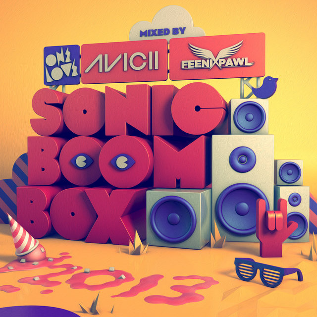 Onelove Sonic Boom Box 2013 (Mixed by Avicii & Feenixpawl)