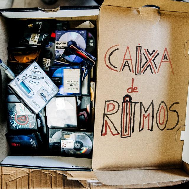 Cover art for album Caixa De Ritmos by Sam The Kid