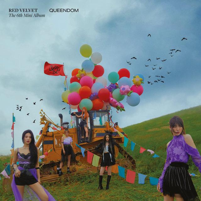 Cover art for album Queendom - The 6th Mini Album by Red Velvet