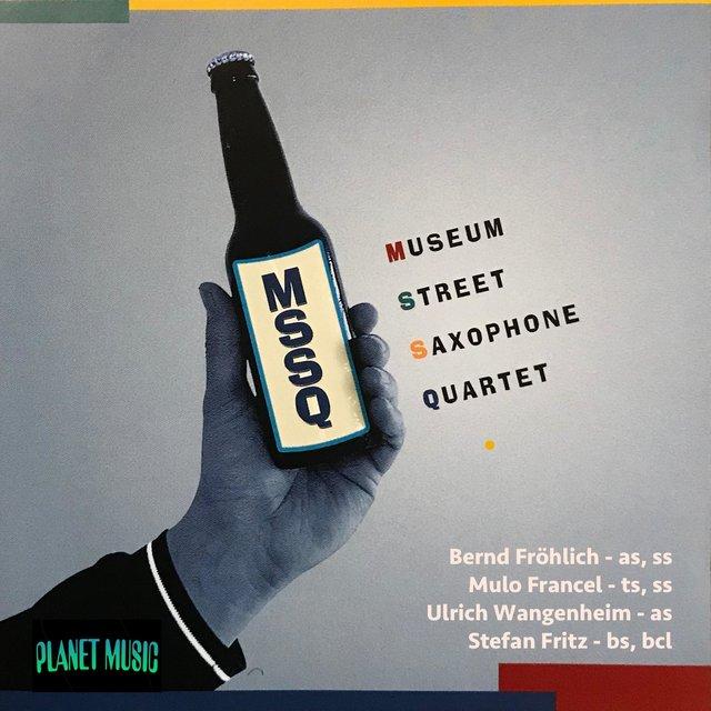 Cover art for album Fröhlich Wangenheim Francel Fritz by Museum Street Saxophone Quartet