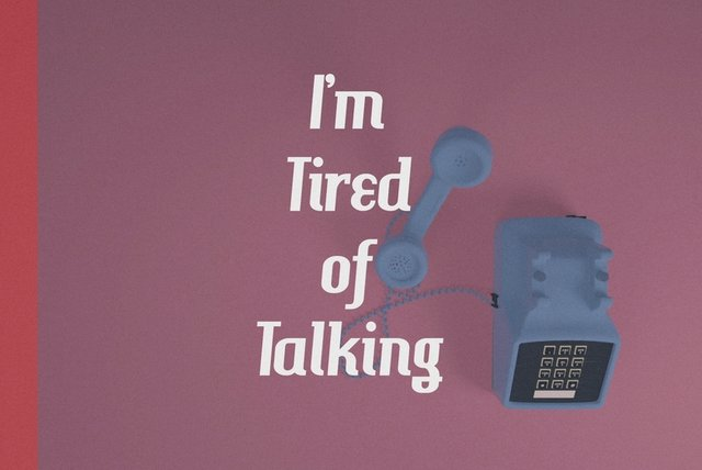 Tired of Talking (Lyric Video)