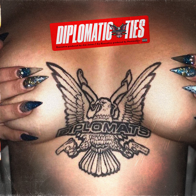 Cover art for album Diplomatic Ties by The Diplomats