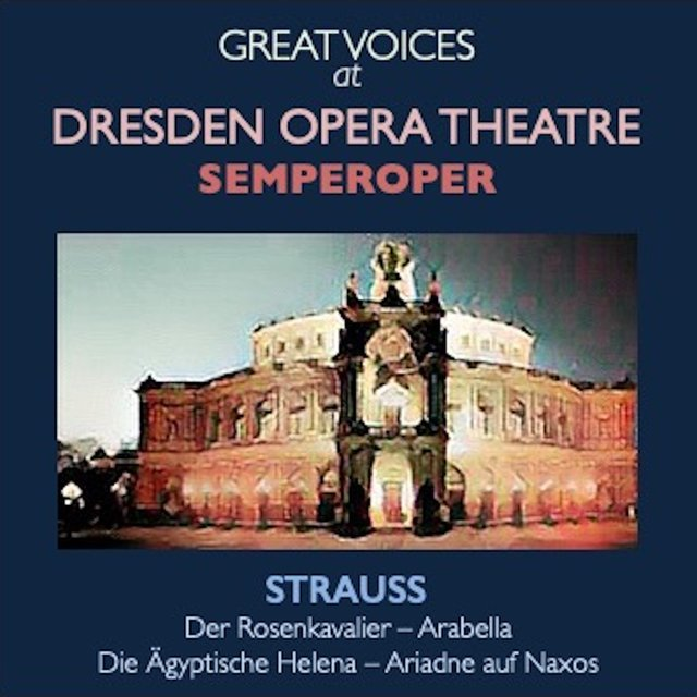 Great Voices at Dresden Opera Theatre Semperoper