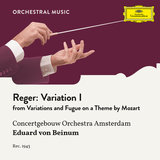 Reger: Variations And Fugue On A Theme By Wolfgang Amadeus Mozart, Op.132 - Variation I