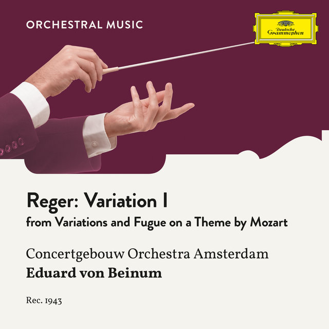 Reger: Variations and Fugue on a Theme by Mozart, Op. 132: Variation I
