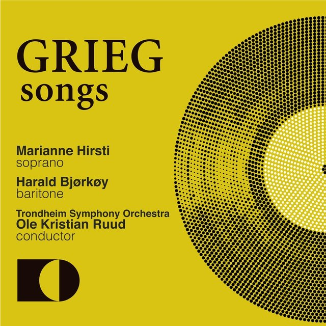 Edvard Grieg, Songs with Orchestra