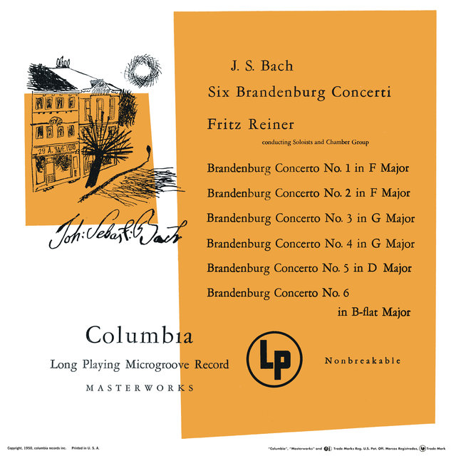 Brandenburg Concertos 1 - 6 (Remastered)