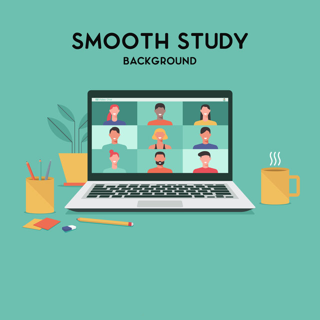 Smooth Study Background – Gentle Retro Jazz Music for Effective Study Session