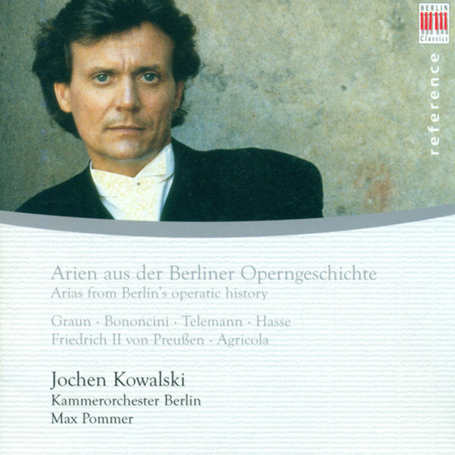 Arias from Berlin's operatic history